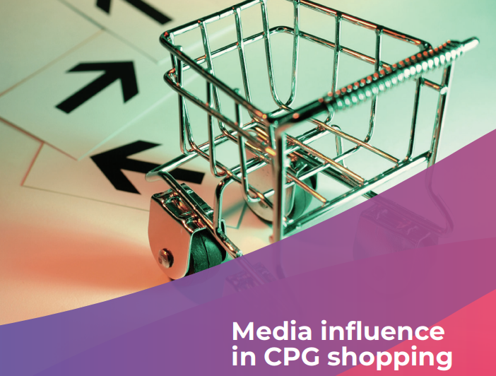 Media influence in CPG shopping